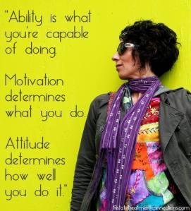 ability motiviation attitude
