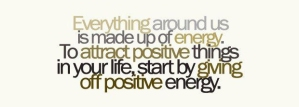 attract put out positive energy