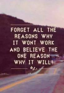 forget why it wont believe why it will