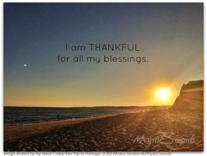 i am thankful for all my blessings