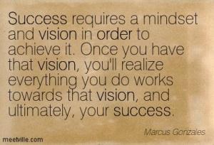 success requires mindset