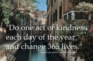 365 random acts of kindness