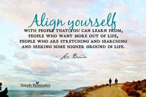 align yourself with mentors