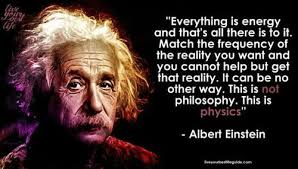 everything is energy einstein