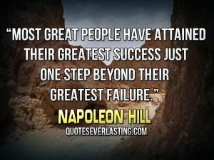 success after failure HILL