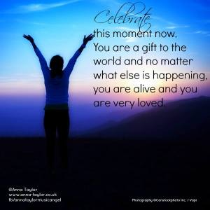 you are a gift to the world celebrate
