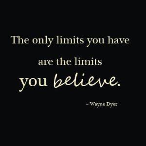 your only limits