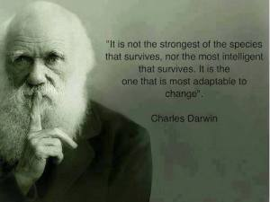 most adaptable to change