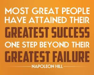 people success after greatest failure NH