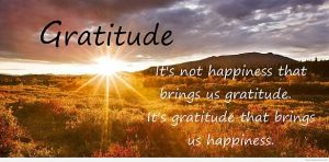 gratitude changes lives