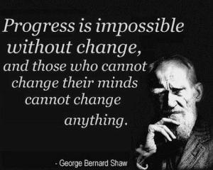 Progress Change GB SHaw