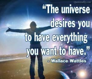 wattles universe wants you to have ur desires