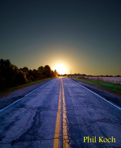 horizon road - phil koch