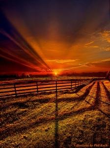 horizons red morning sunrise