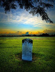 horizons grave stone