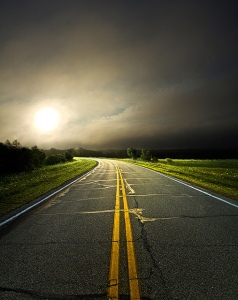 horizons roadway double yellows