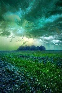 horizons green cloud burst