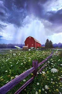 horizon summers-shower-phil-koch