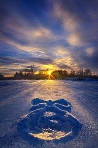 horizons snow-angel-phil-koch